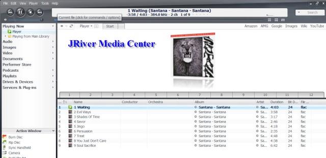 JRiver Screen
