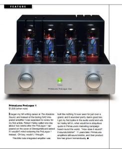 Favorite Upstart ToneAudio Magazine